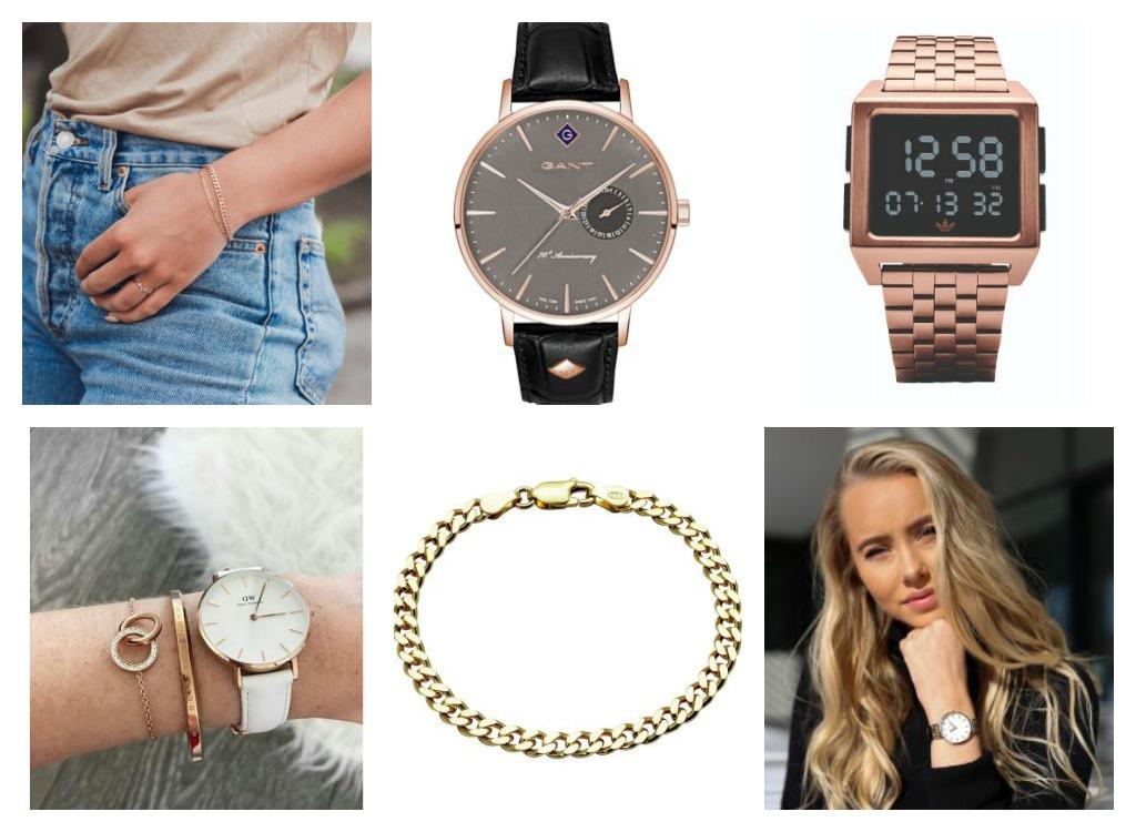 Armband og klokker frå Bjørklund