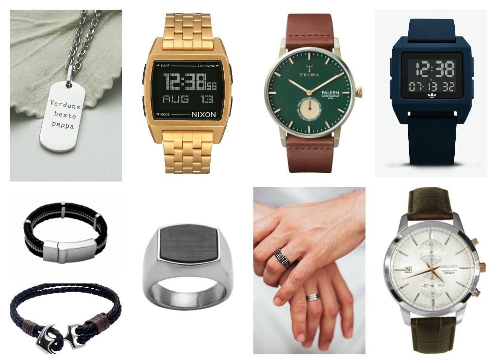 Smykker, klokker, ringar og armband er alle frå Bjørklund.