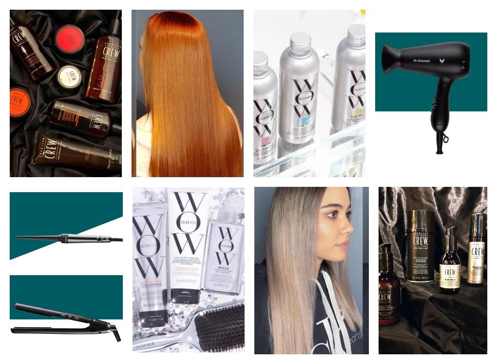 Produkt og hårbehandling av Nobel Frisør