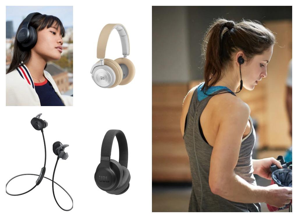 Øretelefonar og headset frå Elkjøp