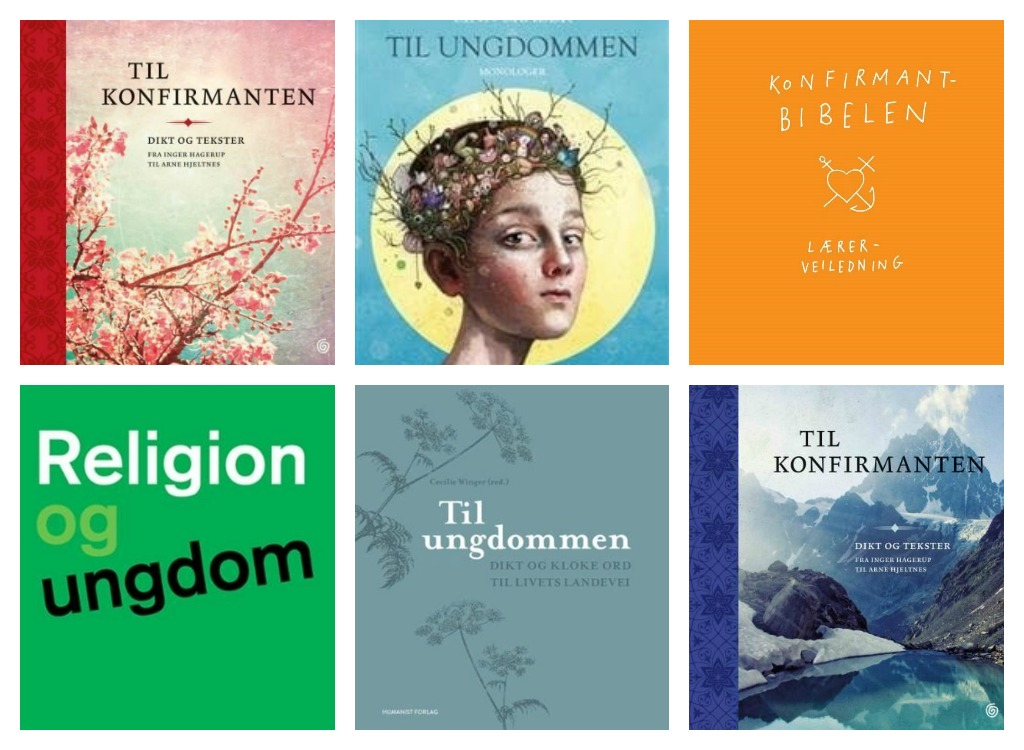 Bøker Kollasj