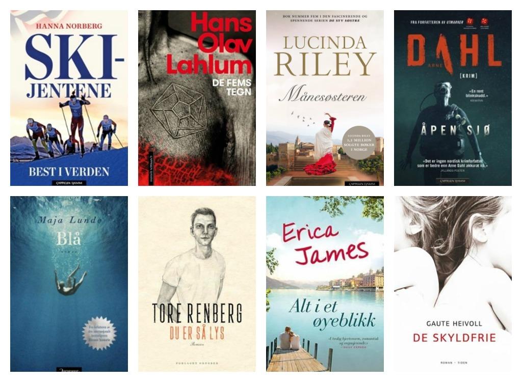 Bøker Jan19 Kollasj